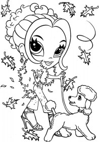 Lisa Frank Coloring Pages for Girls 80367