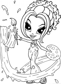 Lisa Frank Coloring Pages for Teenagers 74510