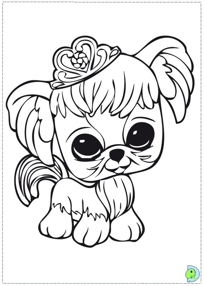 Free Printable Littlest Pet Shop Coloring Pages | H & M Coloring ... | 960x691