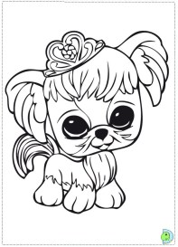 Littlest Pet Shop Coloring Pages Free to Print 17398