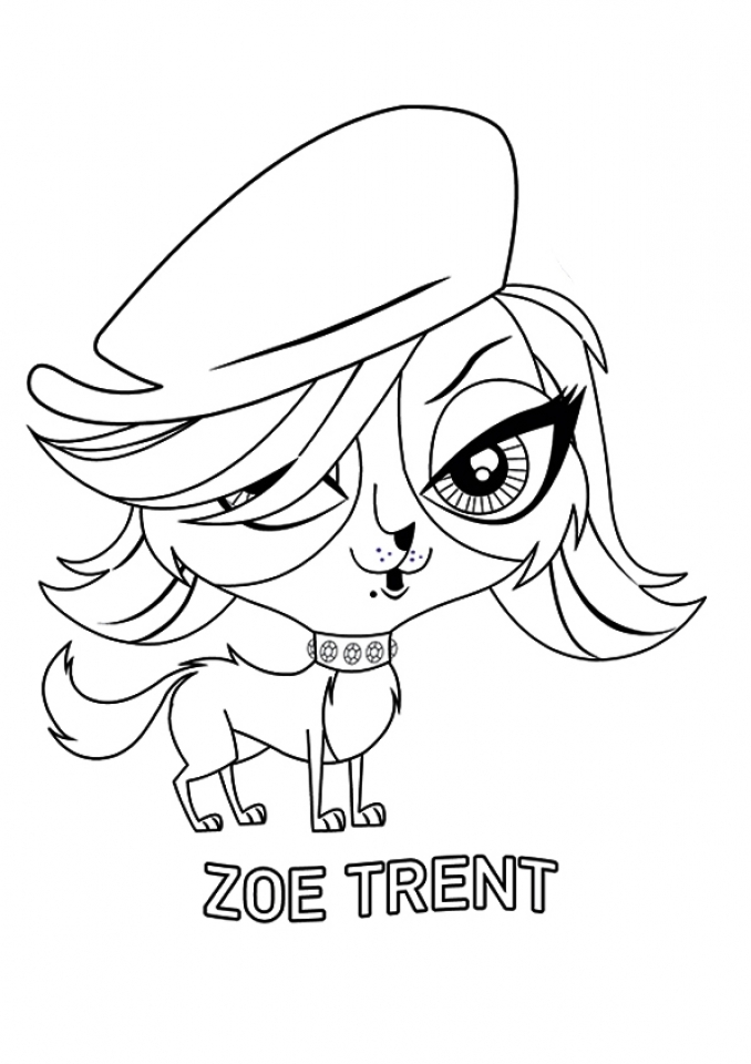 Littlest Pet Shop Kids Printable Coloring Pages   95603