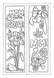 Mothers Day Coloring Sheets Printable for Kids 62997