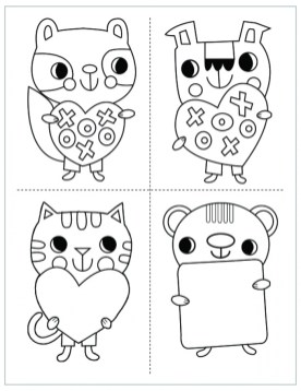 Mothers Day Coloring Sheets Printable for Kids 77271