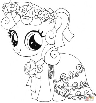 My Little Pony Coloring Pages to Print for Girls 74831