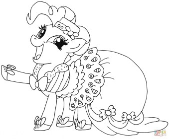 My Little Pony Girls Printable Coloring Pages 40982
