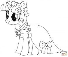 My Little Pony Girls Printable Coloring Pages 70312