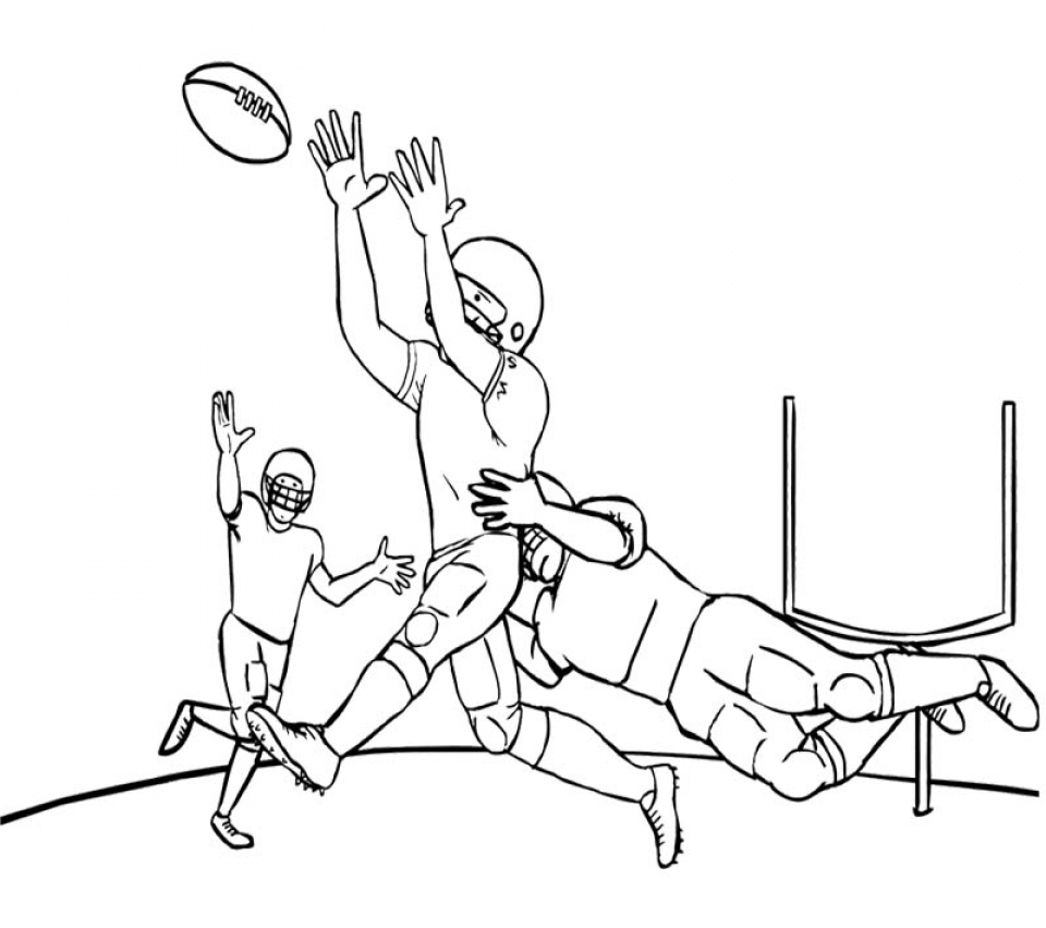 NFL Football Coloring Pages Online Printable   13285