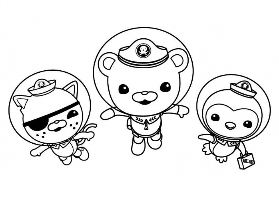 Octonauts Coloring Pages Online   41626