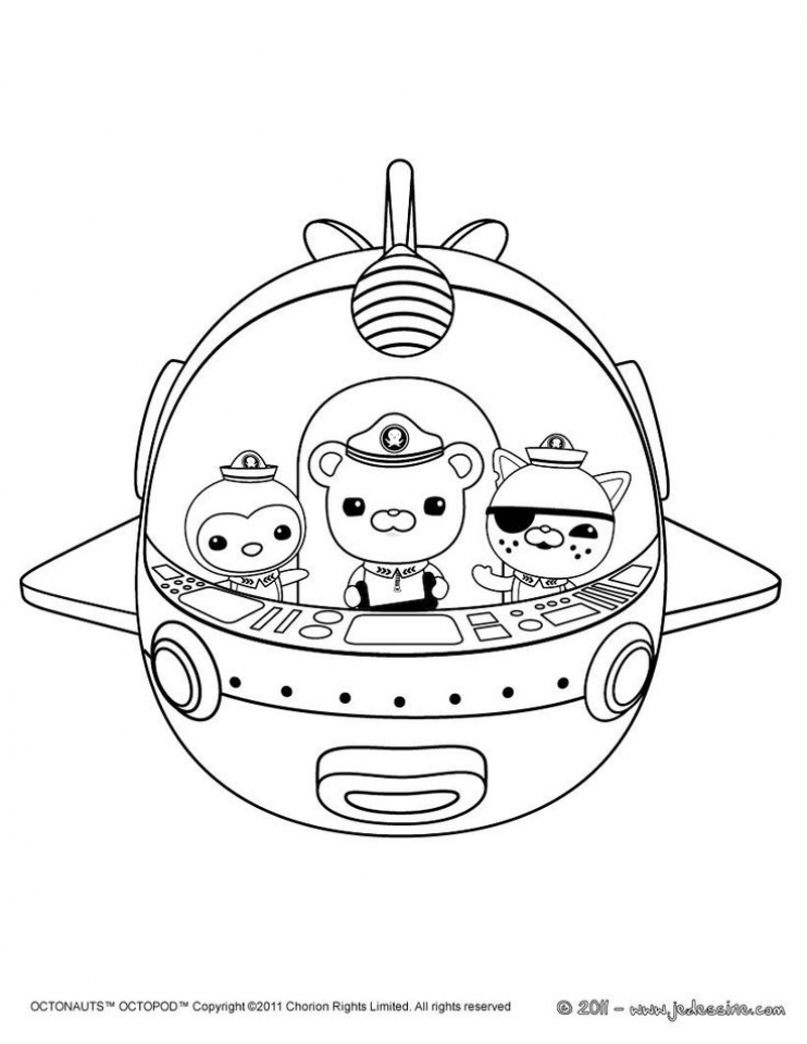 Octonauts Coloring Pages to Print Out   317884