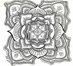 Online Abstract Coloring Pages for Grown Ups 13142