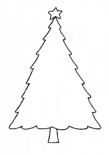 Online Christmas Tree Coloring Pages 44419