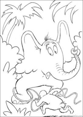 Online Dr Seuss Coloring Pages 58359