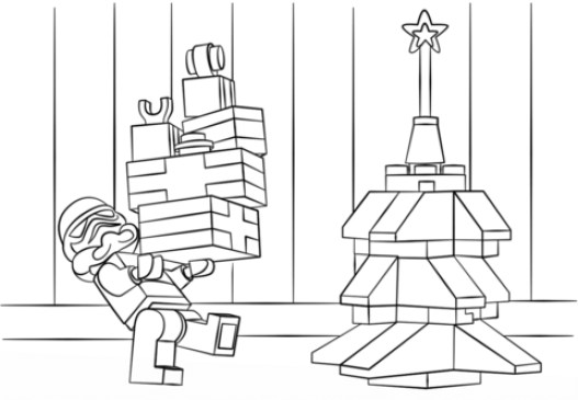 Online Lego Star Wars Coloring Pages 82298
