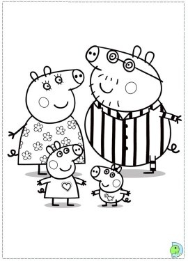 Online Peppa Pig Coloring Pages 32605