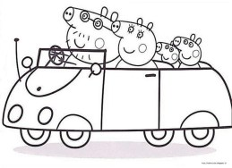 Online Peppa Pig Coloring Pages 47426
