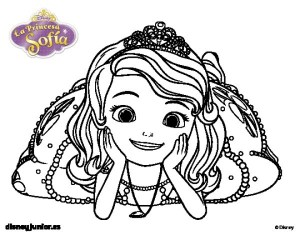 Online Sofia the First Coloring Pages 58356