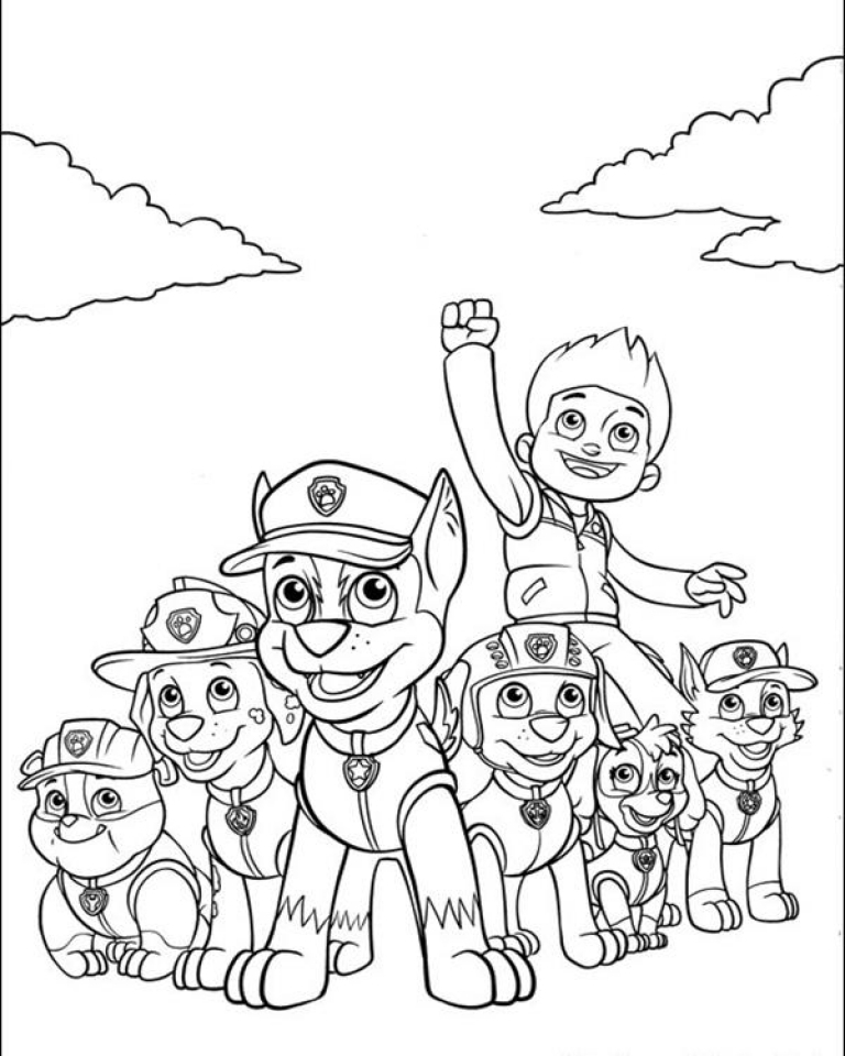 - Get This Paw Patrol Coloring Pages For Kids 32186 !