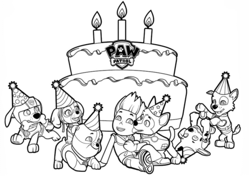 Get This Paw Patrol Coloring Pages Free Printable 27494