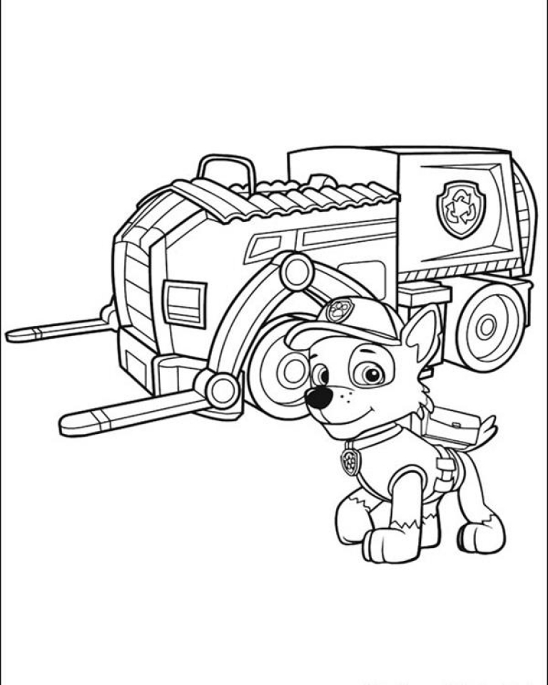 Paw Patrol Coloring Pages Free to Print   42765