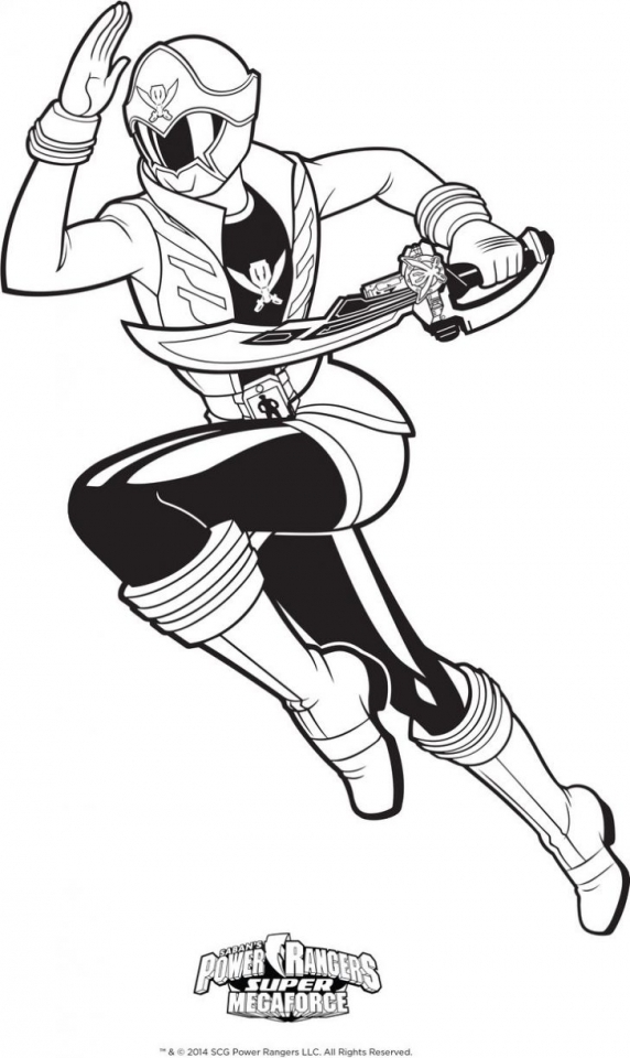 power rangers megaforce coloring pages # 58