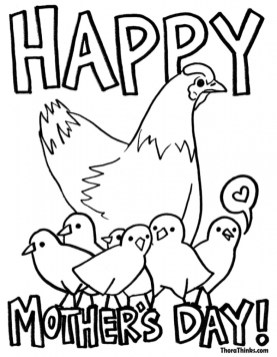 Preschool Coloring Pages of Mothers Day Free to Print out 92801