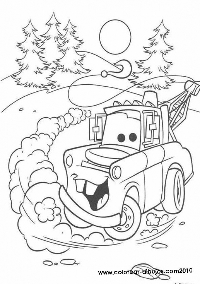 Printable Cars Coloring Pages   34095