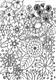 Printable Difficult Coloring Pages for Adults 52418