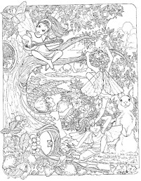 Printable Difficult Coloring Pages for Adults 75239