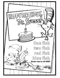 Printable Dr Seuss Coloring Pages Online 26217