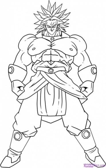 Printable Dragon Ball Z Coloring Pages 88808