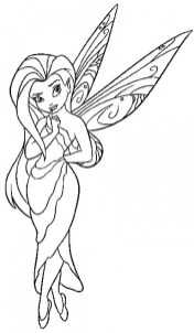 Printable Fairy Coloring Pages 32238