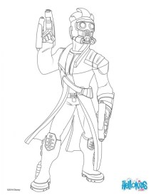 Printable Guardians of the Galaxy Coloring Pages Online 94521