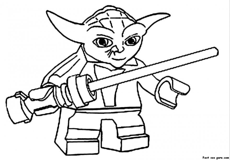 Printable Lego Star Wars Coloring Pages   66664