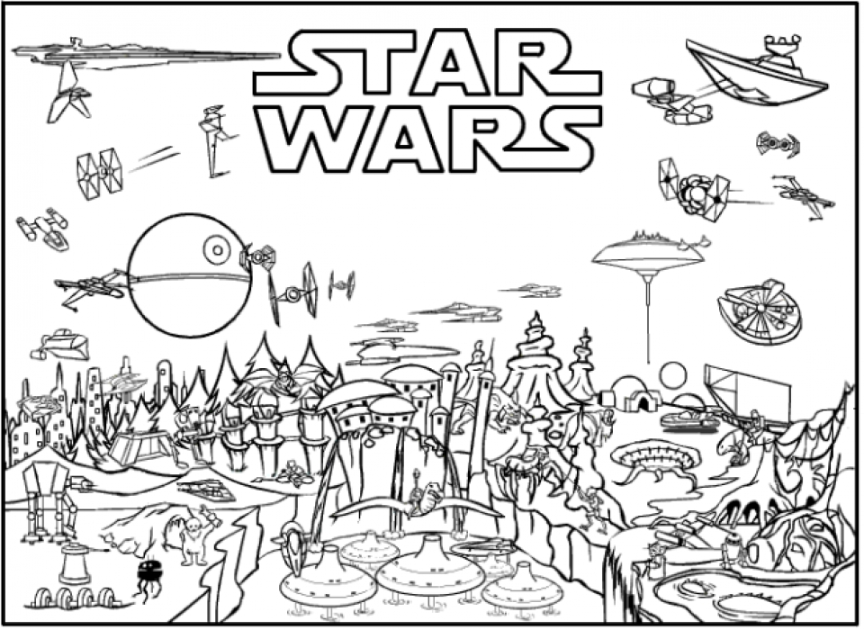 - 20+ Free Printable Lego Star Wars Coloring Pages - EverFreeColoring.com