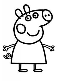 Printable Peppa Pig Coloring Pages 32235