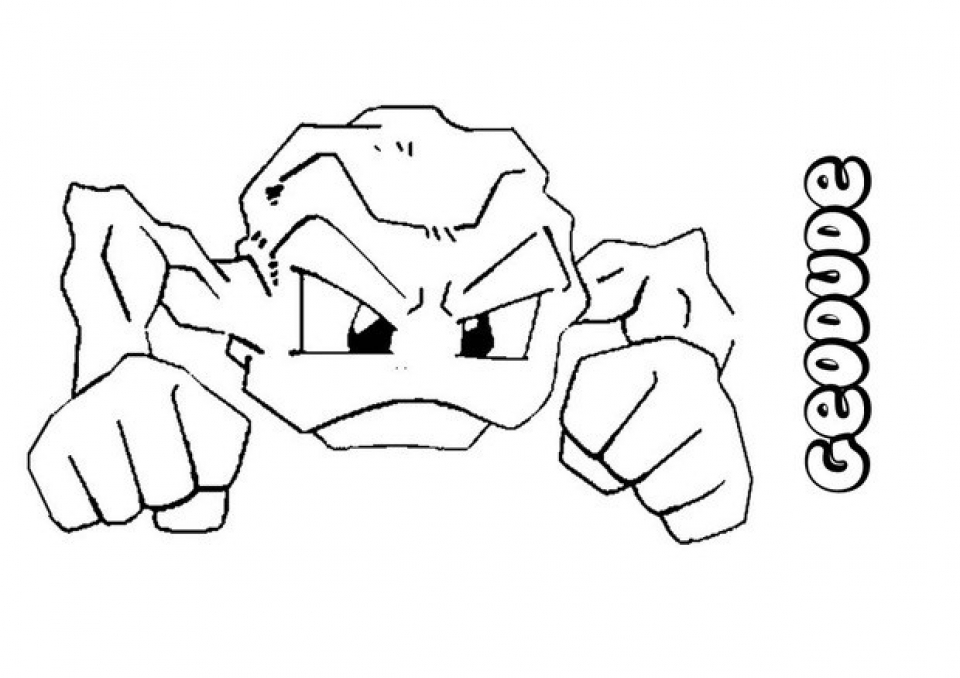 Printable Pokemon Coloring Page   98493