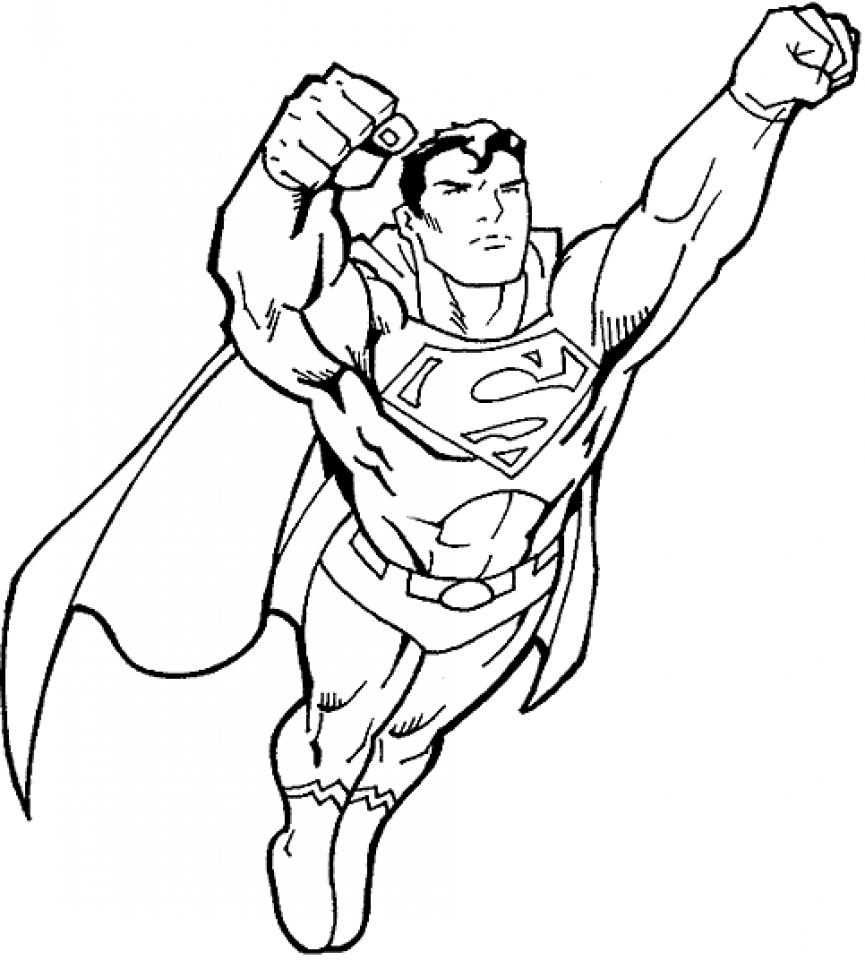- Get This Printable Superman Coloring Pages 32236 !