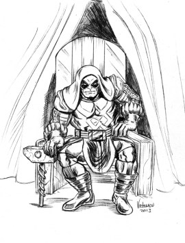 ronan the accuser from Guardians of the Galaxy Coloring Pages 32581