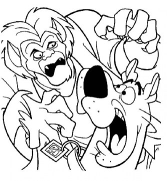 Scooby Doo Coloring Pages Free 31895