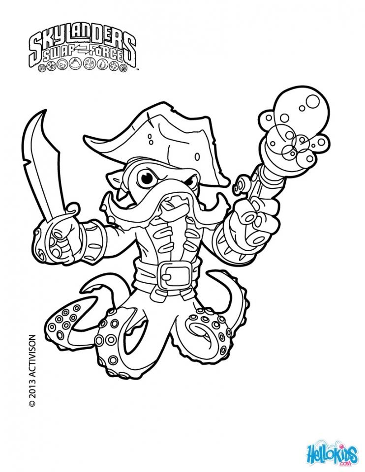 Skylander Coloring Pages to Print Online   35184