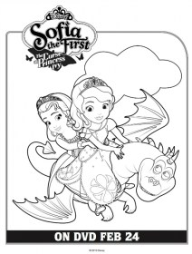 Sofia the First Coloring Pages Free Printable 78426