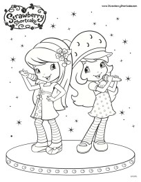 Strawberry Shortcake Coloring Pages Online 61437
