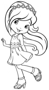 Strawberry Shortcake Printable Coloring Pages 31757