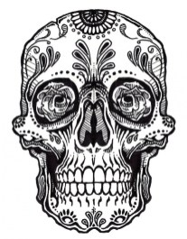 Sugar Skull Coloring Pages to Print for Free 64892