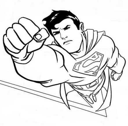 Superman Coloring Pages Free Printable 35749