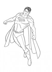 Superman Coloring Pages Free Printable 38807