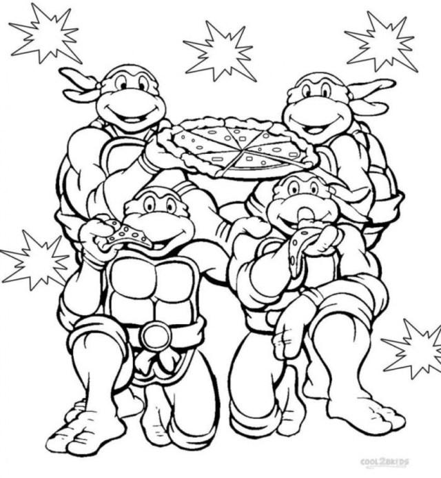 Get This Teenage Mutant Ninja Turtles Coloring Pages Free