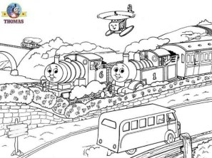 Thomas the Tank Engine Coloring Pages Online 29336
