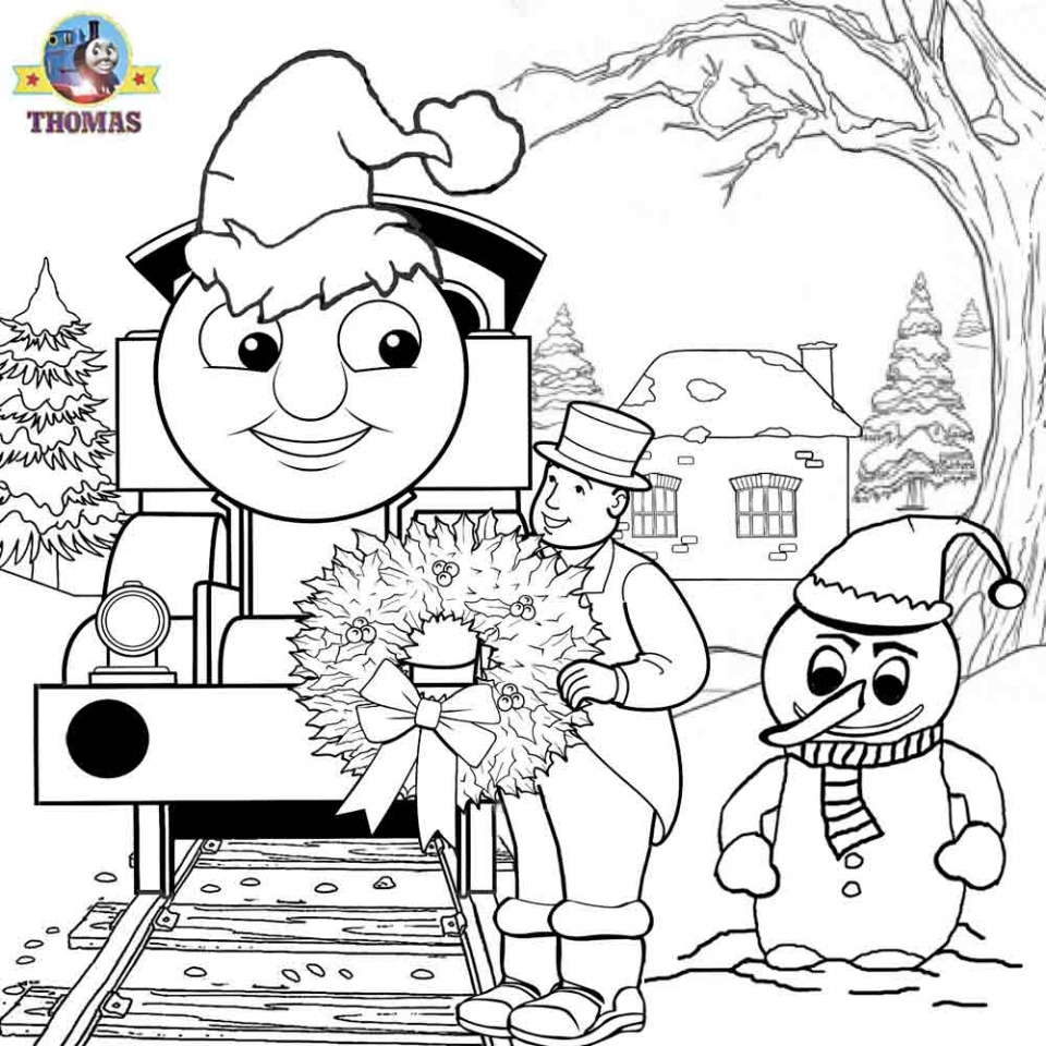 20+ Free Printable Thomas The Train Coloring Pages - EverFreeColoring.com