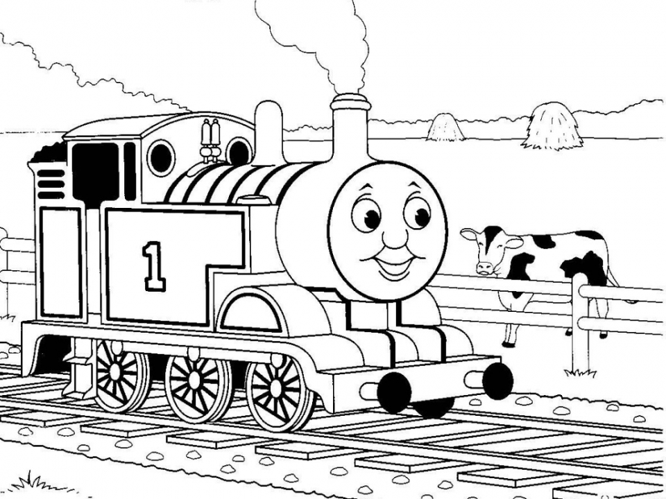 Thomas the Train Coloring Pages Online   17582